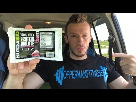 honest-reviews:-nutrabio-100%-whey-protein-isolate---strawberry-ice-cream-(supplement-review)