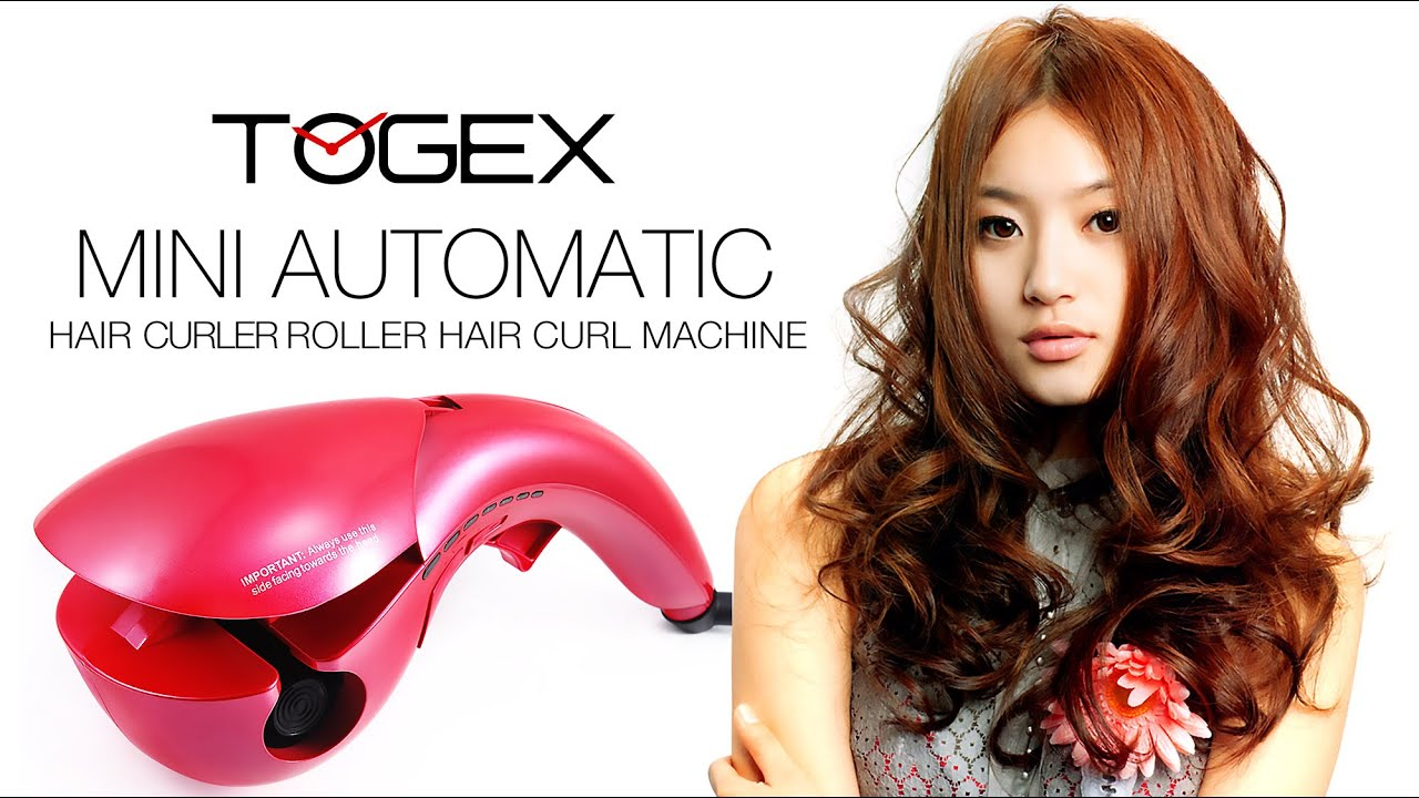 Mini Automatic Hair Curler Hair Styling Tools Roller Togex