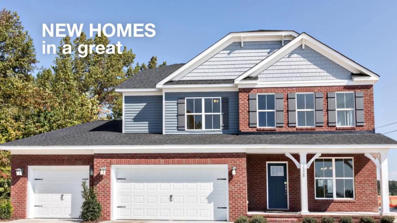 Sherborne manor new homes in chesapeake va youtube for Builders in va