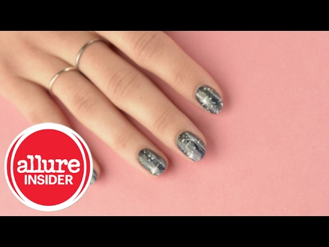 Easy Way to Create Galaxy Nails
