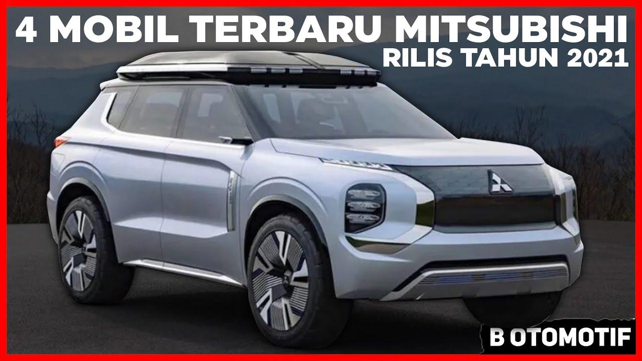 4 Mobil Keren Terbaru dari Mitsubishi yang Akan Rilis tahun 2021