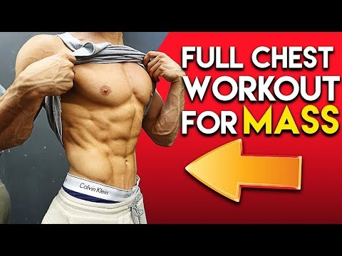 The Only Chest Workout You'll Ever Need | Full Chest Workout