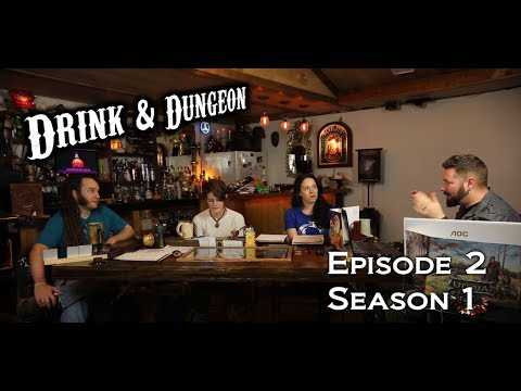 Drink and Dungeon Ep 2: Into the forest.