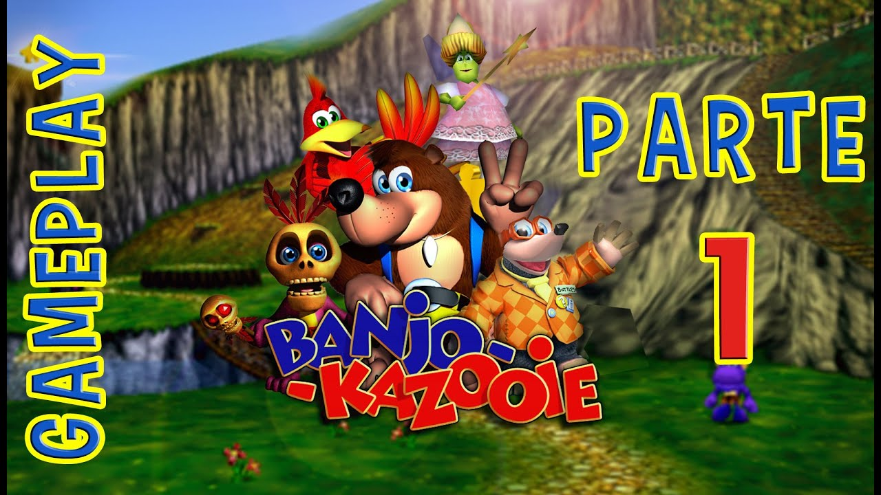 Banjo Kazooie Xbox 360 Gameplay Parte 1 Youtube