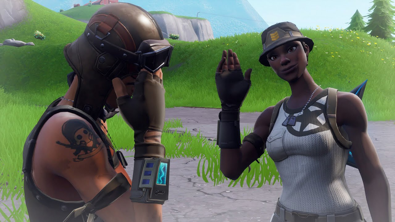 Renegade Raider Thumbnail: So I Challenged A Recon Expert For His Fortnite Account