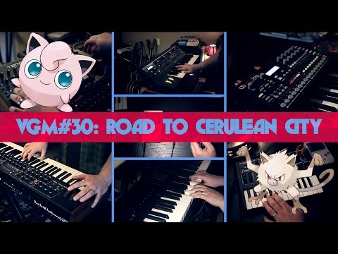 VGM #30: Road to Cerulean City (Pokemon R/B)