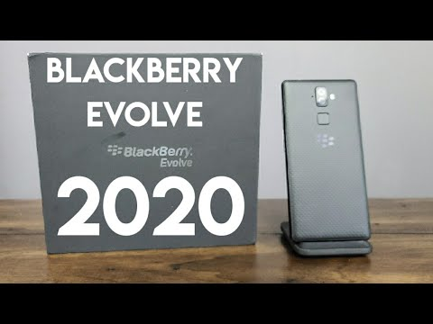 BlackBerry Evolve In 2020 - Unboxing And First Impressions