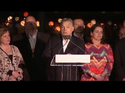 Hungary's Orban celebrates 'decisive victory'
