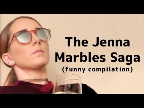 The Jenna Marbles Saga (funny compilation)