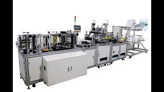 완전 자동 고속 서보 N95 마스크 기계, 중국 제조업…