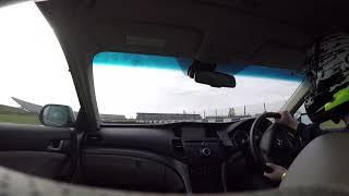 Lap of Rockingham in a Honda Accord 2.4 I-VTEC EX (Euro)