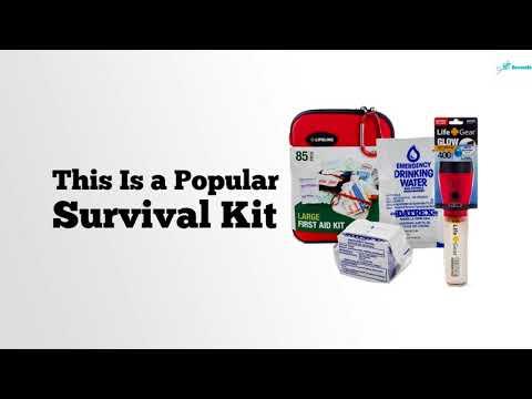 4 Person Premium Survival Kit Review - Premium Survival Kit For Four People Review
