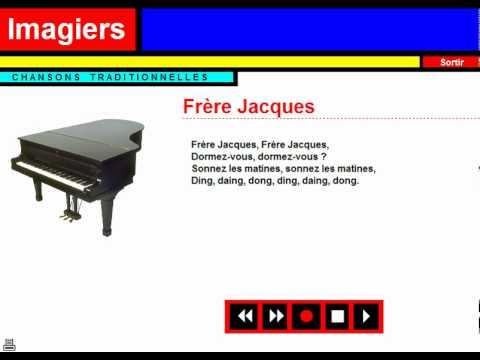 Karaoke = Chanson traditionnelle = Frère Jacques