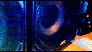 JVC subwoofer test 1hz to 35hz