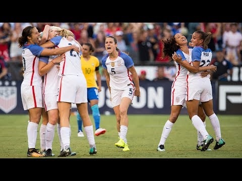 WNT vs. Brazil: Highlights - July 30, 2017