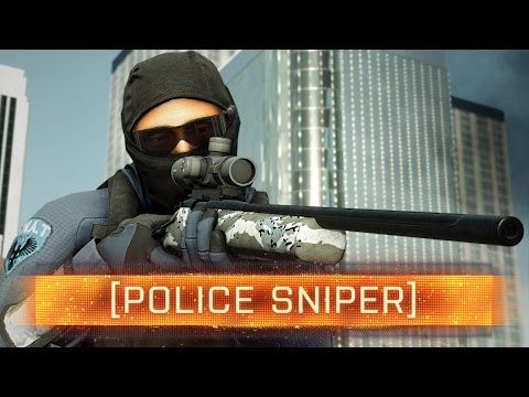 ► POLICE SNIPER - R700 WEAPON REVIEW! | Battlefield: Hardline