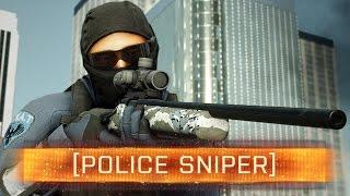 ► Police Sniper - R700 Weapon Review! | Battlefield: Hardline