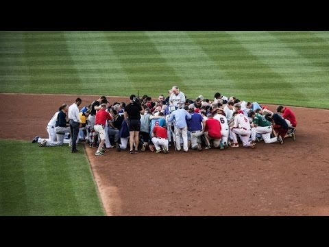Sights and sounds from the congressional baseball game
