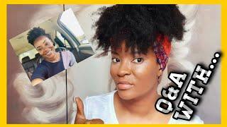 Q&A with Crown Your Mane | 2019 NATURAL HAIR | ZAMBIAN YOUTUBERS | IN'UTU J. MUBANGA