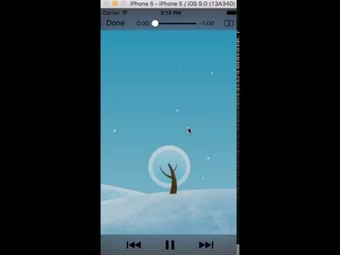 Play Audio and Video Using AVFoundation Framework in Swift