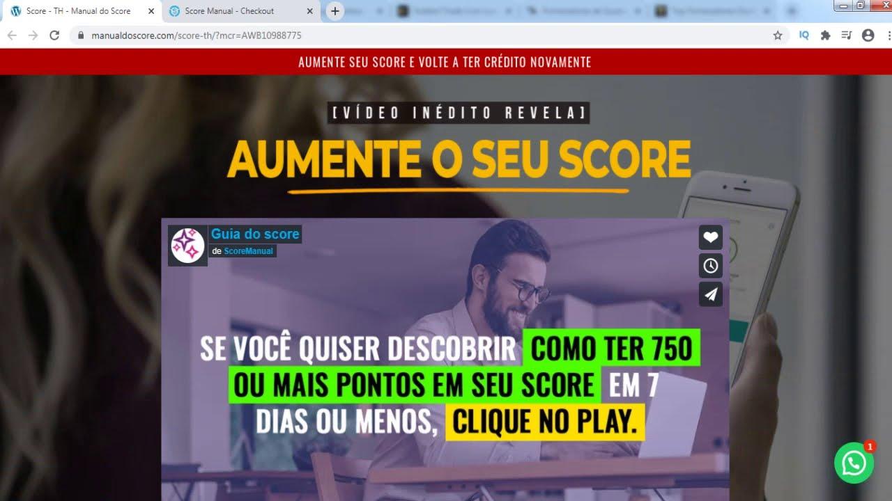 manual do novo score pdf download