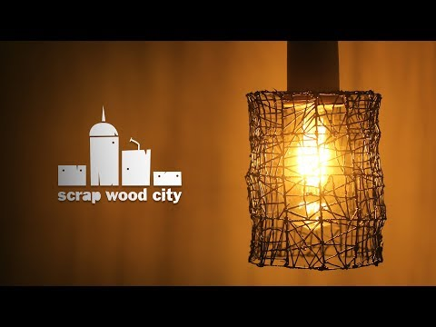 Making a lamp using the wood lathe and a 3D pen