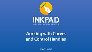 Curves and control handles Inkpad tutorial