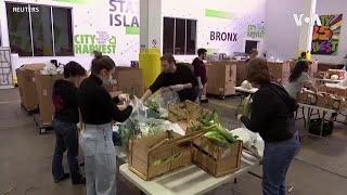 纽约非营利机构疫情中帮助有需要的人度难关