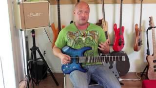 800 raines headless 7 string guitar kiesel carvin steinberger strandberg ergo