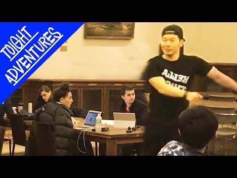EXTREME TRUTH OR DARE!! - DANCING BTS GO GO in the NYC Public Library