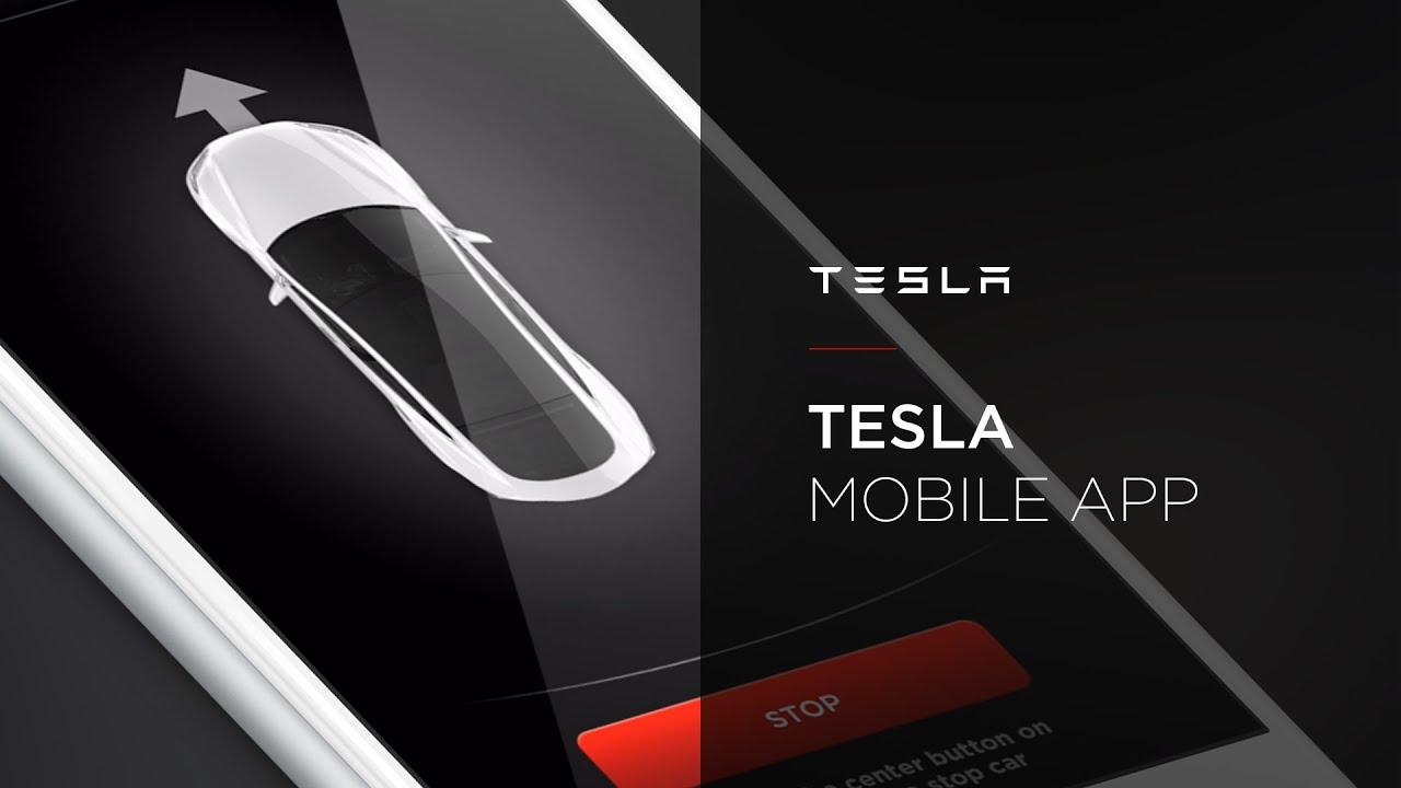 Image result for tesla mobile app