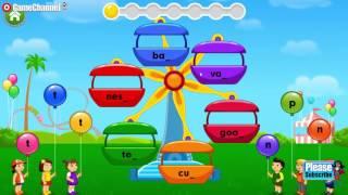 Kids ABC Letter Phonics, Learn Alphabet Sounds, ABC blocks, Videos Games for Children