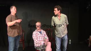 PERFORMANCE: Matt Walsh, Ian Roberts and Matt Besser on w...