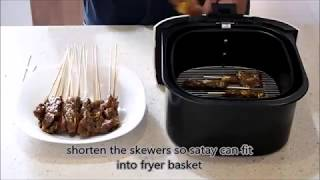 One easy method to grill satay is to use the Air Fryer. Simple and taste just as good. City Satay has a variety of BBQ food and accessories. Visit our site at ...