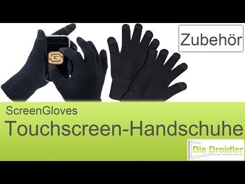 Screen Gloves Touchscreen-Handschuhe | German