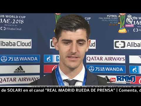 COURTOIS declaraciones post Real Madrid 4-1 Al Ain FC | FINAL mundial de Clubes EAU (22/12/18)