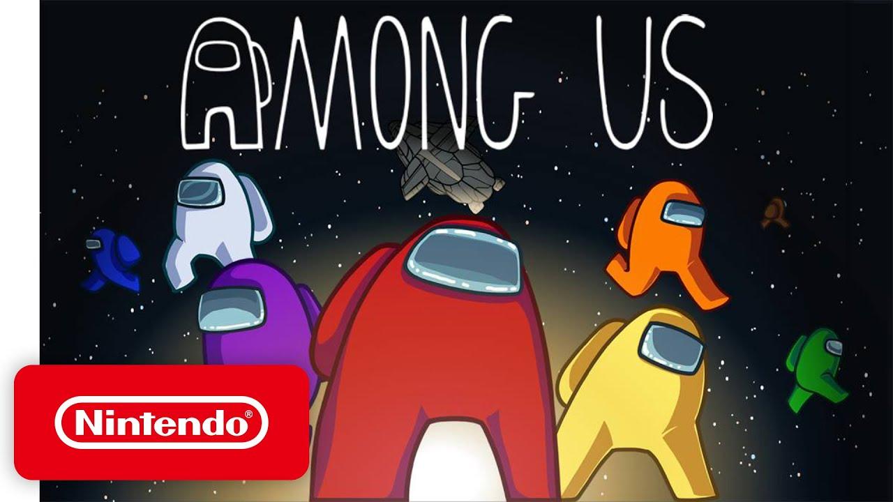 Among Us Launch Trailer Nintendo Switch Youtube