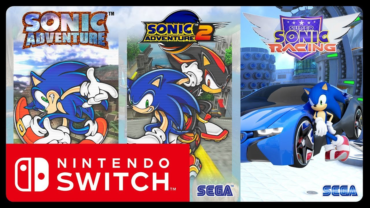 sonic adventure 1 2 coming to switch super sonic racing info