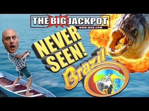 INSANE HIT! ?NEVER SEEN! ?Go BIG or Go BUST ?RAJA GOES BIG on BRAZIL! ?? - The Big Jackpot - 동영상