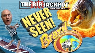 INSANE HIT! 😱NEVER SEEN! 💥Go BIG or Go BUST 💥RAJA GOES BIG on BRAZIL! 🇧🇷 | The Big Jackpot