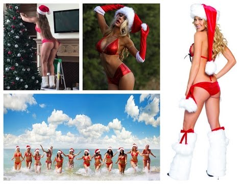 Best Sexy Santa Girls - New Year Sexy Girls - Sexy New Year 2017