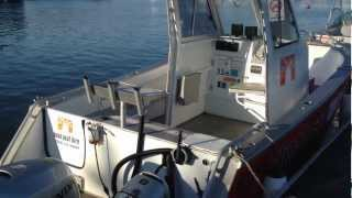 Boab Boat Hire Centre Cab & Sports Rider at Soldiers Point boat ramp