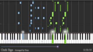 (Synthesia Piano) Oath Sign, Fate/Zero OP 1