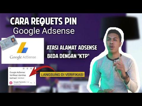 Cara Request Pin Adsense 2021 Langsung Diverifikasi || Alamat Adsense Beda Dengan KTP