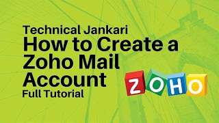 How to Create a Zoho Mail Account