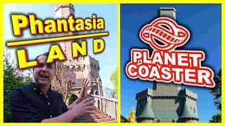 Planet Coaster Vs. Realität - Phantasialand Attraktionen im Vergleich