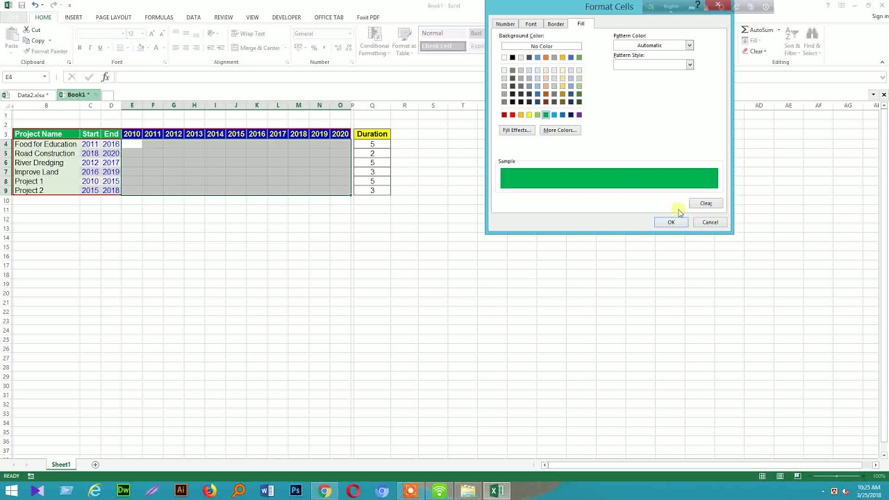 Gantt chart method 01 youtube gantt chart method 01 nvjuhfo Images