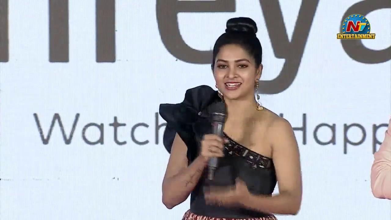 Actress Madhumitha Speech At Stalin Andarivaadu Pre Release Event   Jiiva   NTV Entertainment