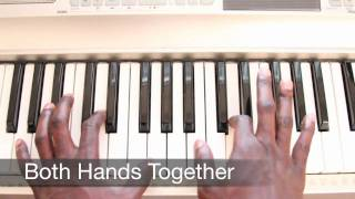 "How to play ""Trouble"" by Coldplay on Piano"