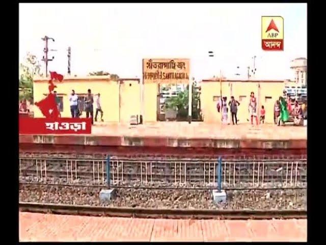 Trains cancelled for foot bridge construction at Santragachi